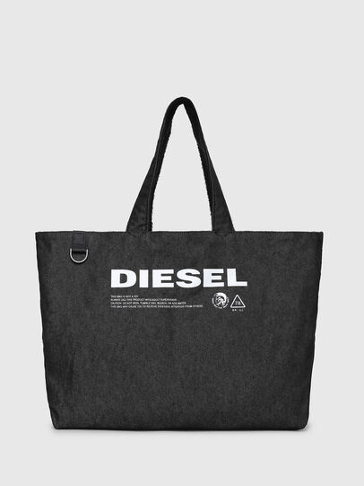 Diesel - D-THISBAG SHOPPER L, Black - Shopping and Shoulder Bags - Image 6