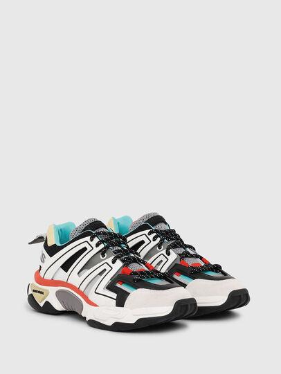 Diesel - S-KIPPER LOW TREK, White/Black - Sneakers - Image 2