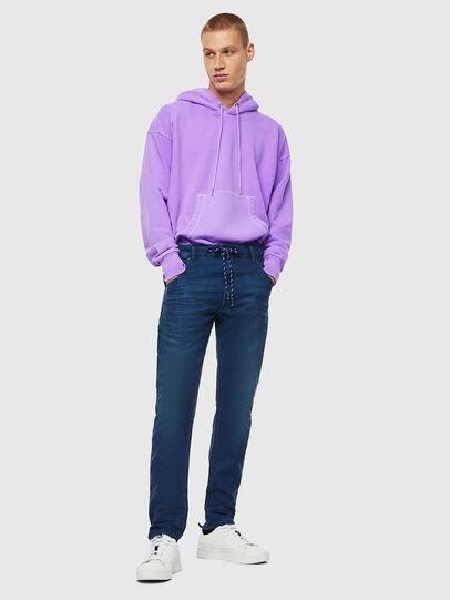 Diesel - Krooley JoggJeans 0098H, Medium blue - Jeans - Image 6