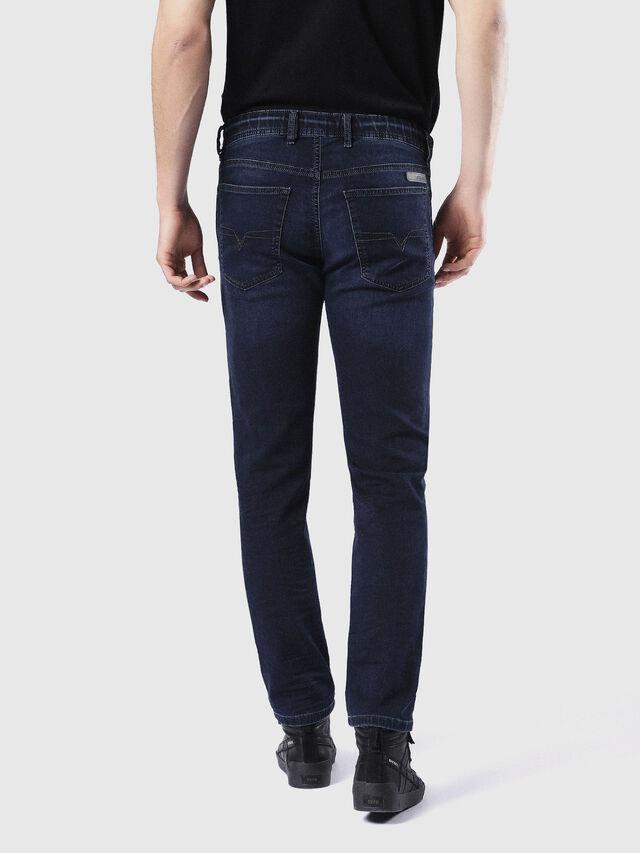 Diesel - Waykee JoggJeans 0842W, Dark Blue - Jeans - Image 3