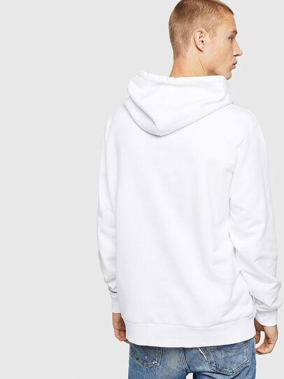 Diesel - S-GIR-HOOD-BX1, White - Sweaters - Image 2