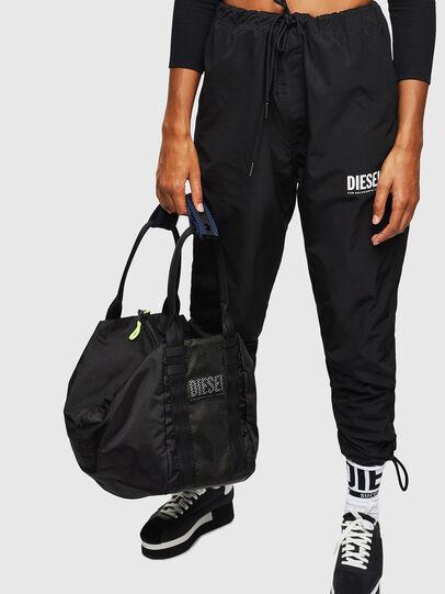 Diesel - D-CAGE SHOPPER, Black - Shopping and Shoulder Bags - Image 7