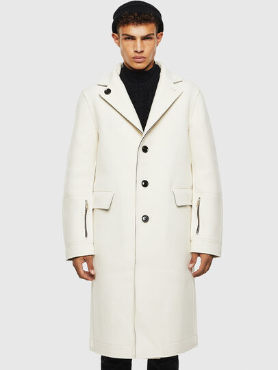 Diesel - W-COLBERT, White - Winter Jackets - Image 1