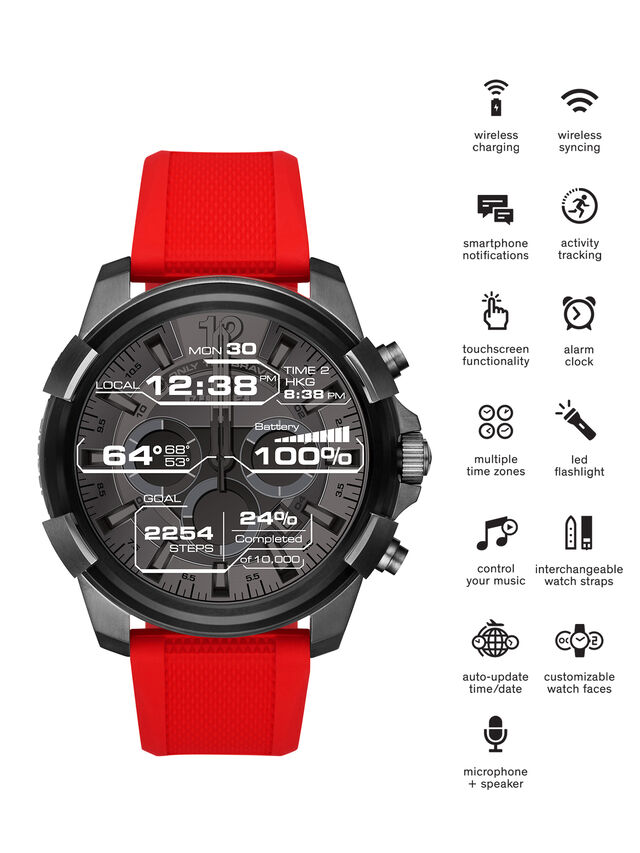 Diesel DT2006, Red - Smartwatches - Image 1
