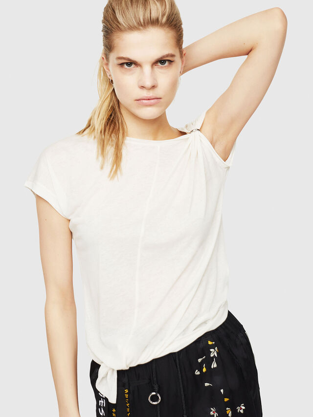 Diesel - T-MILLIE-A, White - Tops - Image 1
