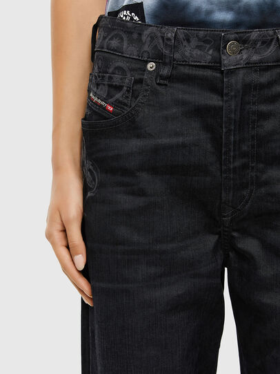 Diesel - D-Reggy 009LC, Black/Dark grey - Jeans - Image 4