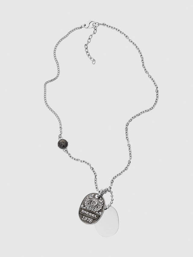 Diesel DX1106, Silver - Necklaces - Image 1