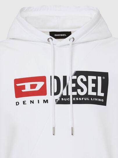 Diesel - S-GIRK-HOOD-CUTY, White - Sweaters - Image 3