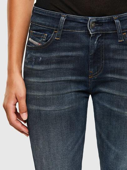 Diesel - Slandy 009JH, Dark Blue - Jeans - Image 4