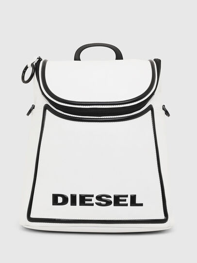 Diesel - SPYNEA, White/Black - Backpacks - Image 1