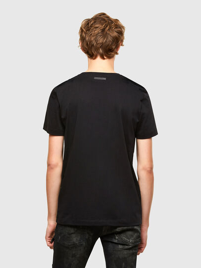 Diesel - T-IEGO-A, Black - T-Shirts - Image 2
