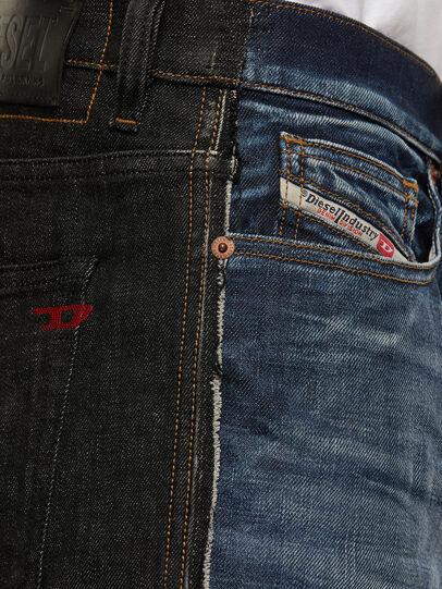 Diesel - D-Vider 009GR, Black/Dark grey - Jeans - Image 4