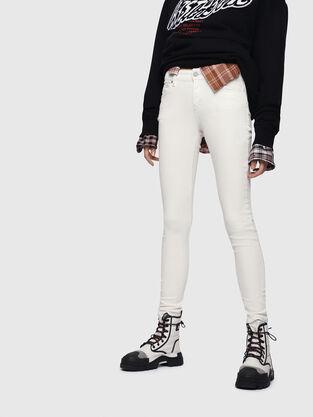 Slandy 086AD, White - Jeans
