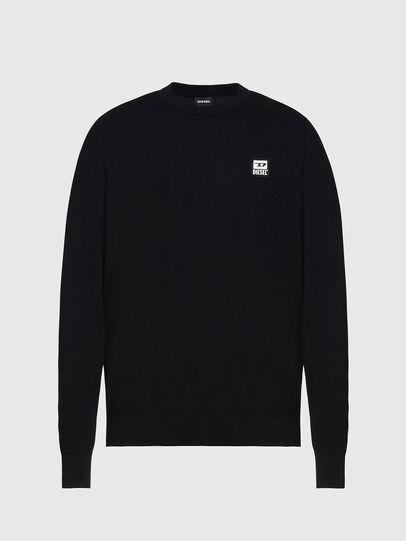 Diesel - K-FREEX-B, Black - Knitwear - Image 1