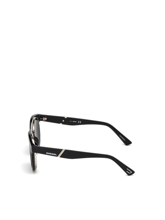 Diesel - DL0251, Bright Black - Eyewear - Image 3