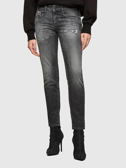 Diesel - D-Ollies JoggJeans® 009QT, Black/Dark grey - Jeans - Image 1