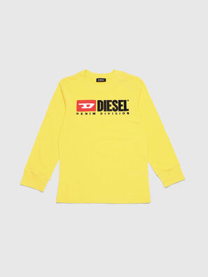 TJUSTDIVISION ML, Yellow - T-shirts and Tops