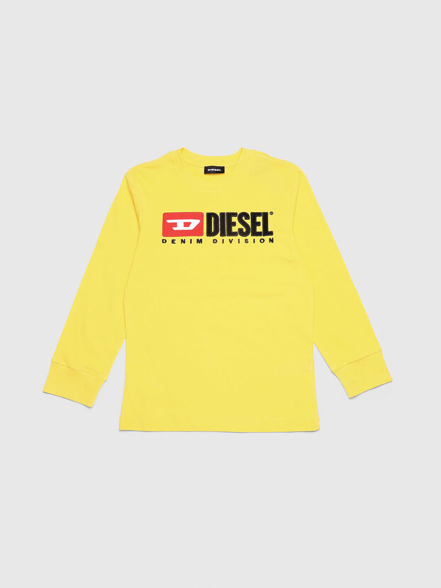 TJUSTDIVISION ML, Yellow - T-shirts and Tops