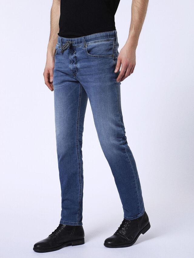 Diesel - WAYKEE JOGGJEANS 084CZ, Light Blue - Jeans - Image 7