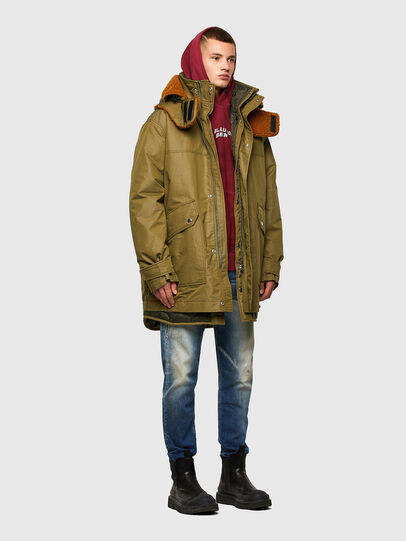 Diesel - W-STEVE, Military Green - Winter Jackets - Image 7