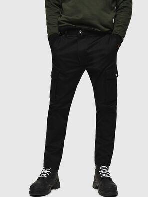 P-JARED-CARGO, Black - Pants