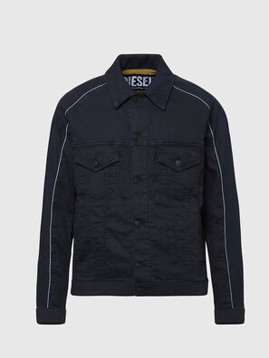 D-BRAVY-SP JOGGJEANS, Black - Denim Jackets