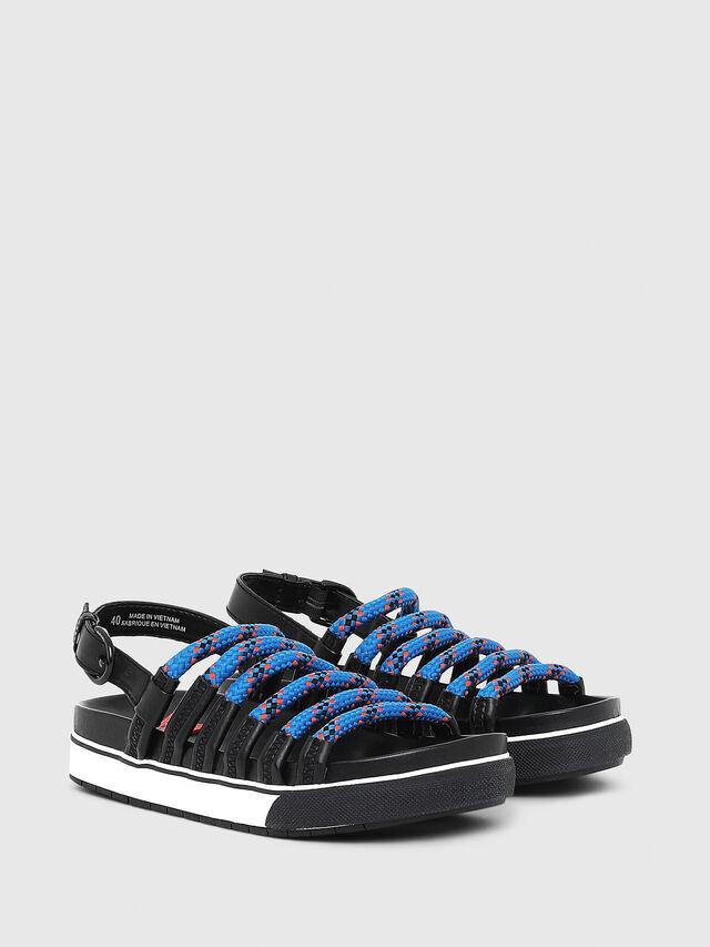 Diesel - SA-GRAND LC W, Black/Blue - Sandals - Image 2