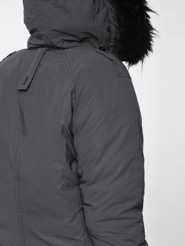 Diesel - W-CODY, Black - Winter Jackets - Image 4
