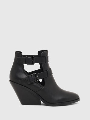 D-FLAMINGO OB, Black - Ankle Boots
