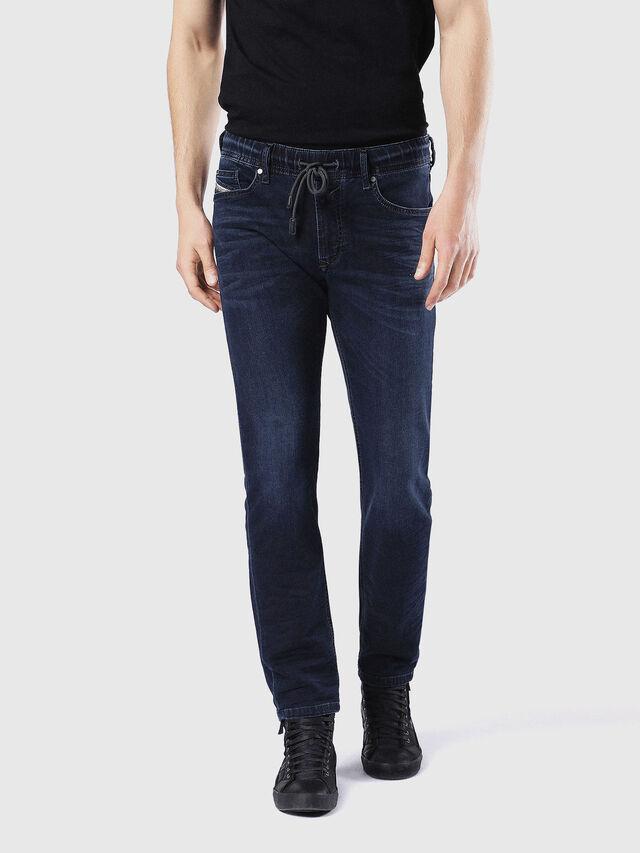 Diesel Waykee JoggJeans 0842W, Dark Blue - Jeans - Image 2