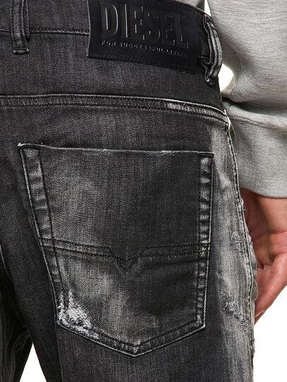 Diesel - Krooley JoggJeans® 09B53, Black/Dark grey - Jeans - Image 4