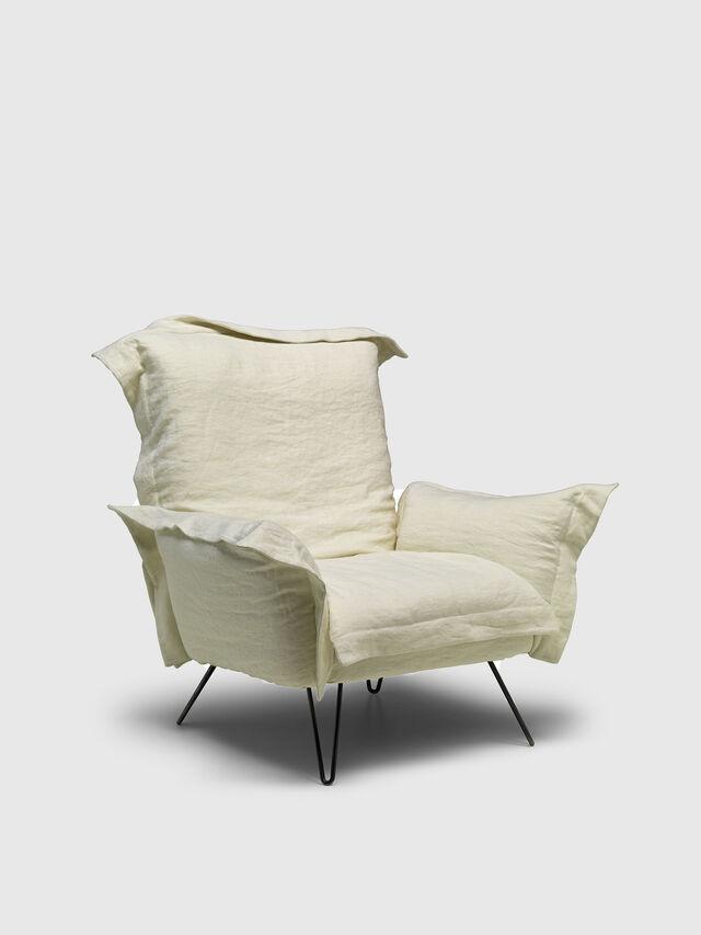 Diesel - DL0F55 CLOUDSCAPE, White - Armchairs - Image 2