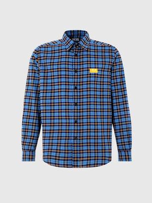 S-MOI-CHK-A, Blue/Yellow