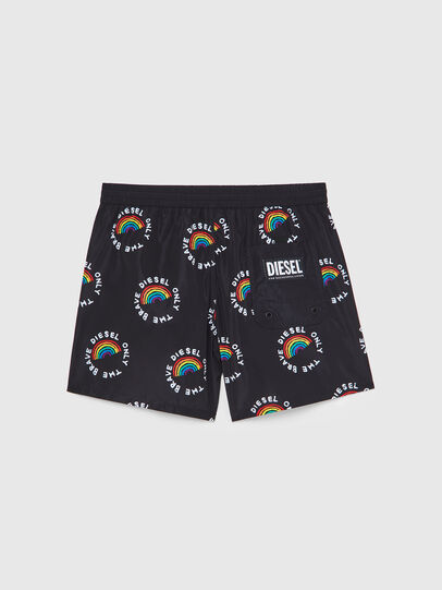 Diesel - BMBX-WAVE 2.017-P, Black - Swim shorts - Image 2