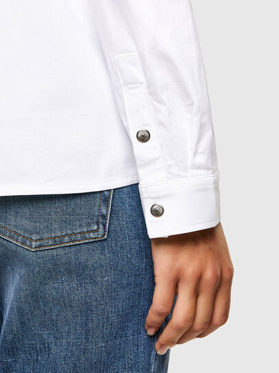 Diesel - C-RENELL, White - Shirts - Image 4