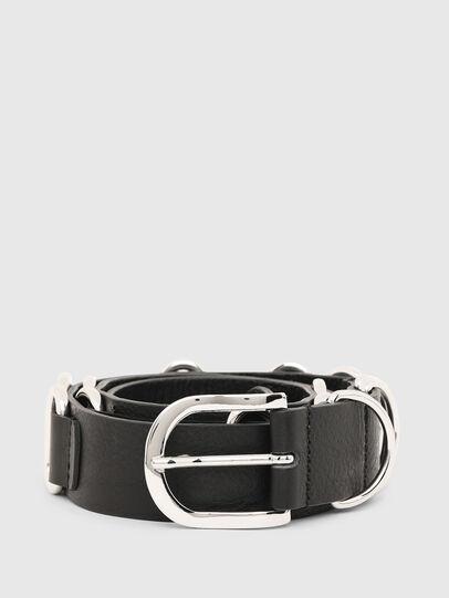 Diesel - B-MERRING, Black - Belts - Image 1