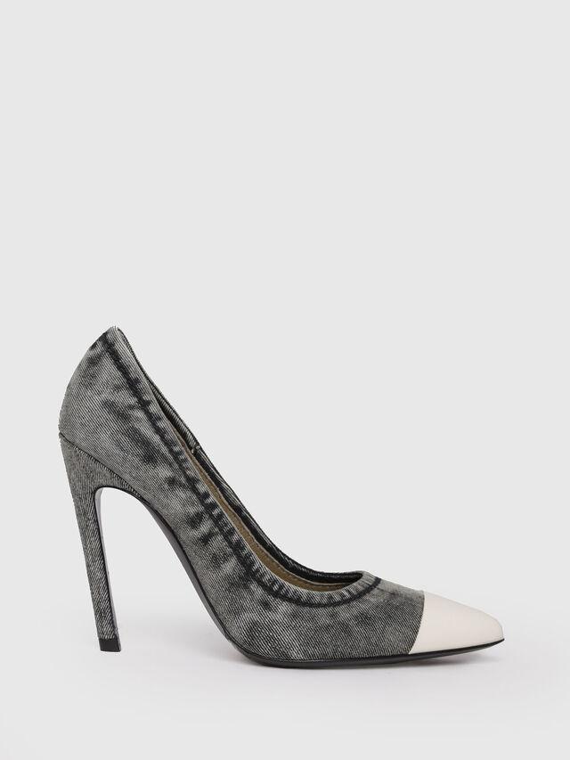 Diesel - D-SLANTY HPD, Grey Jeans - Heels - Image 1