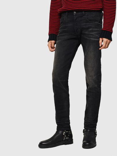 Diesel - D-Bazer 0098B, Black/Dark grey - Jeans - Image 1
