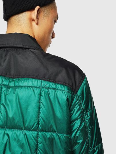 Diesel - J-WELLES, Green - Winter Jackets - Image 5