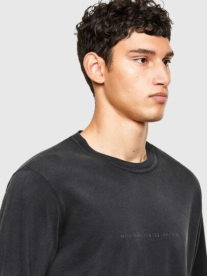 Diesel - T-JUBIND-LS, Black - T-Shirts - Image 3