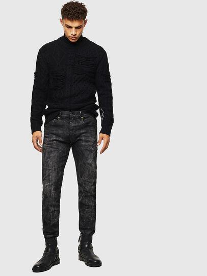 Diesel - K-BRIGLY, Black - Knitwear - Image 8