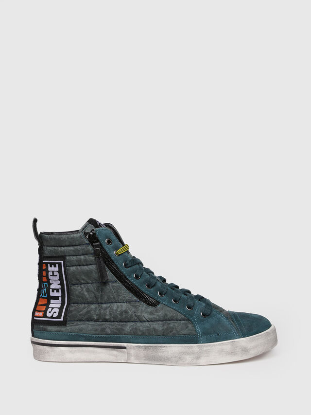 Diesel - D-VELOWS MID PATCH, Water Green - Sneakers - Image 1