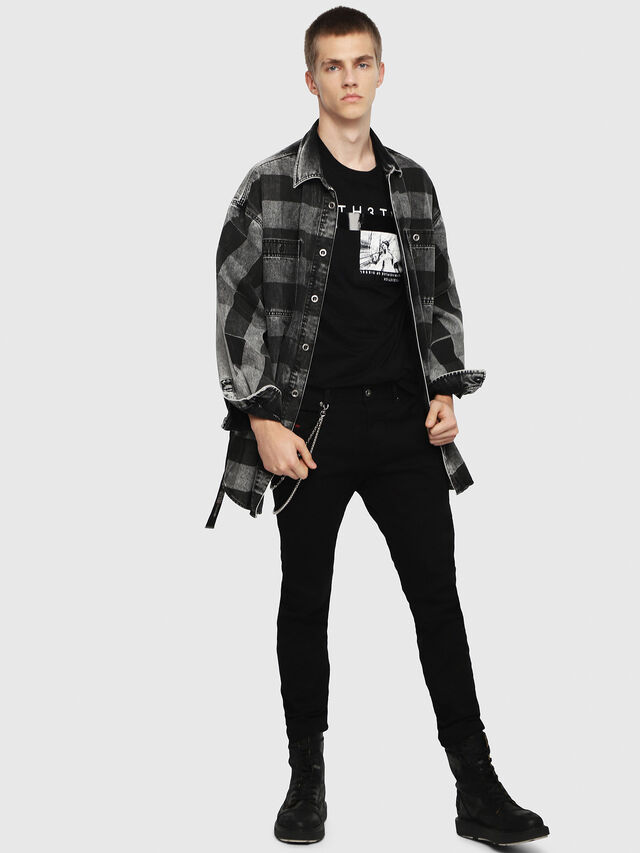 Diesel Thommer 0688H, Black/Dark grey - Jeans - Image 4