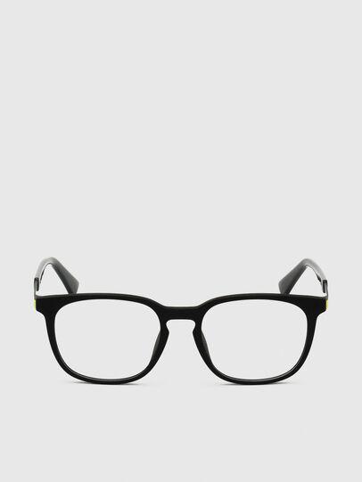 Diesel - DL5349, Black/Green - Eyeglasses - Image 1