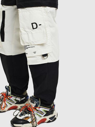 Diesel - P-MELTY, Black/White - Pants - Image 5
