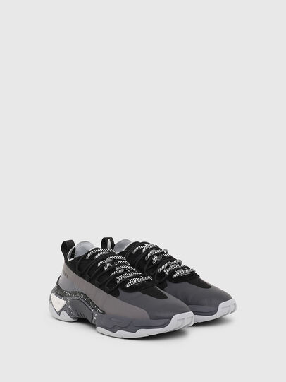 Diesel - S-KIPPER BAND, Gray/Black - Sneakers - Image 2