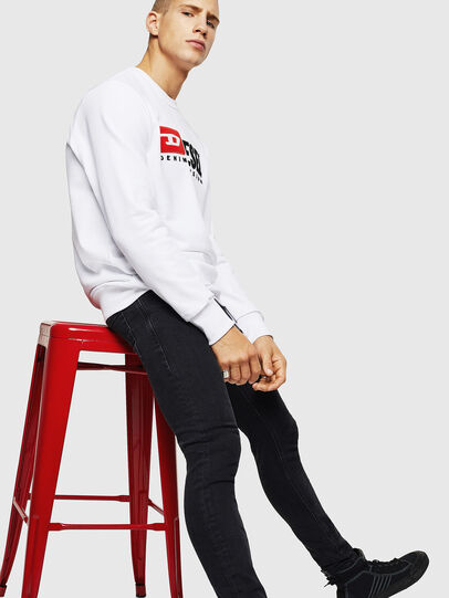 Diesel - S-GIR-DIVISION, White - Sweaters - Image 5