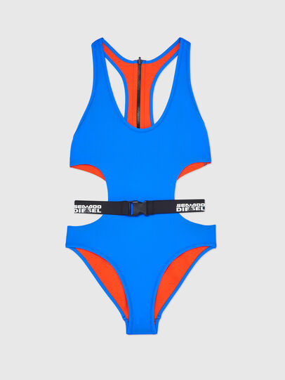 Diesel - BFSW-DIVERDOO, Blue/Orange - Swimsuits - Image 1