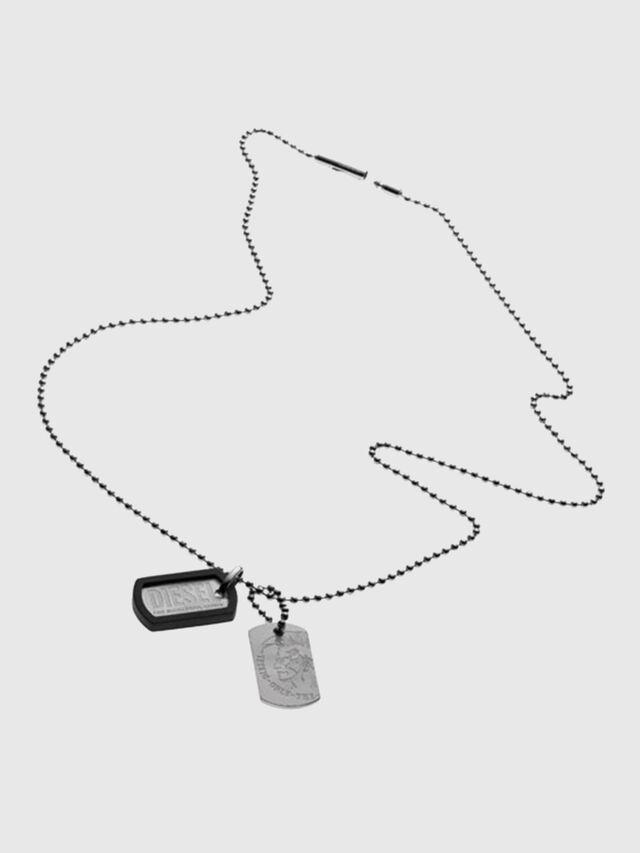 Diesel - DX0202, Silver - Necklaces - Image 1