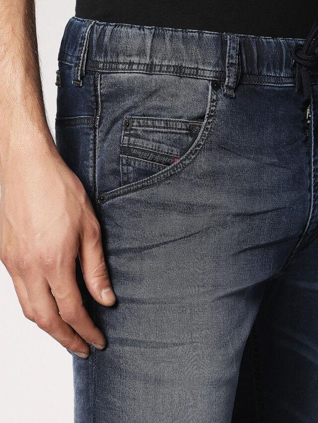 Diesel Krooley JoggJeans 0683Y, Dark Blue - Jeans - Image 4
